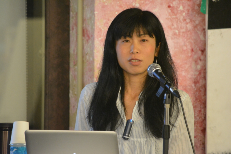 山岳ガイドの金井麻美さん